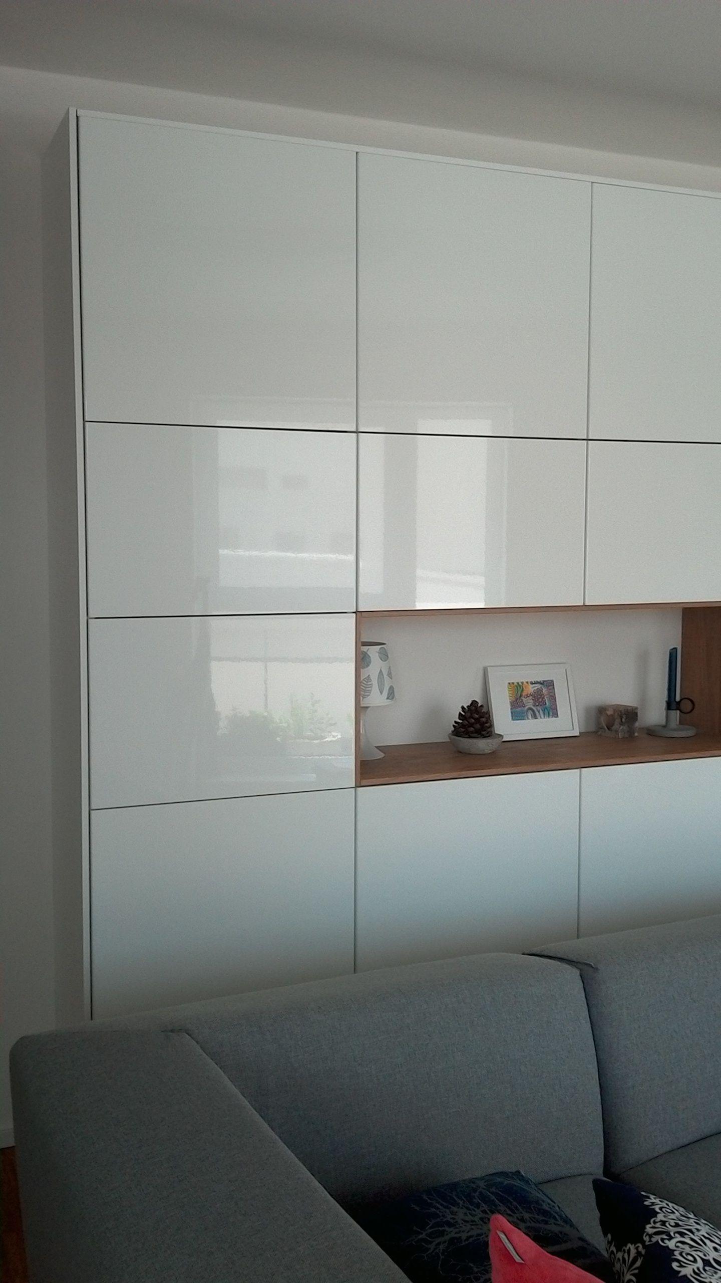 Wohnzimmerschrank ikea  Ikea Method Ringhult plus Hyttan als Wohnzimmerschrank | Meine ...