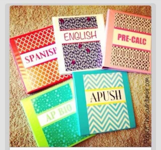 Soo To Make These Super Cool Binder Covers You Will Need 4