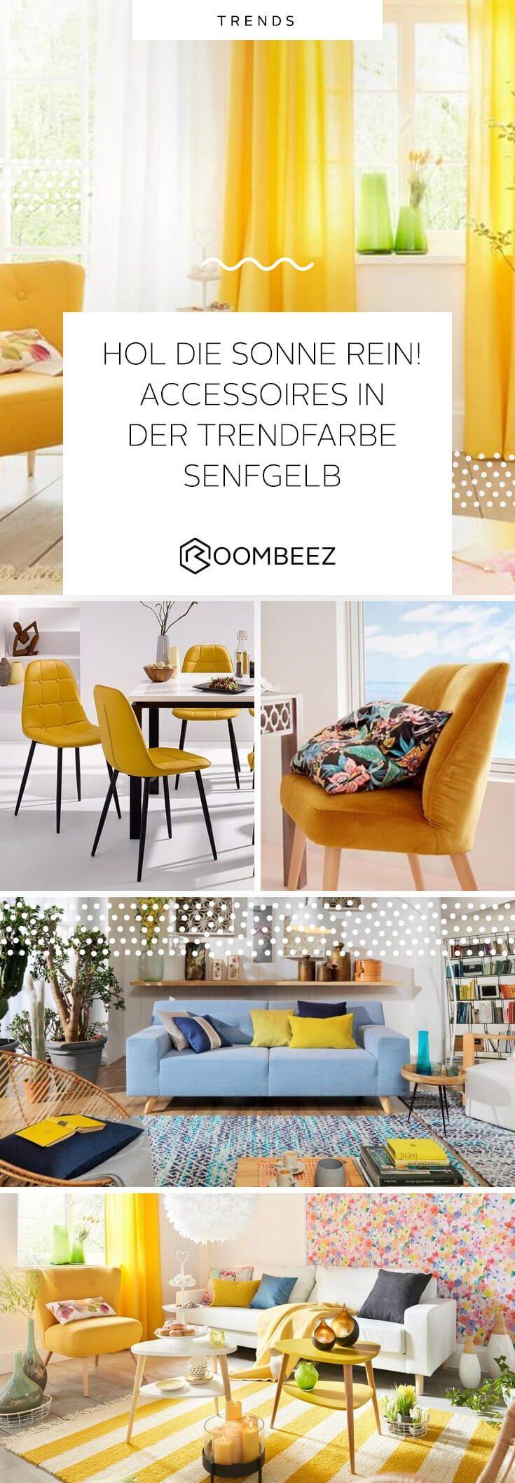 Trendfarbe Senfgelb » Möbel und Wohnaccessoires  OTTO  Senfgelb