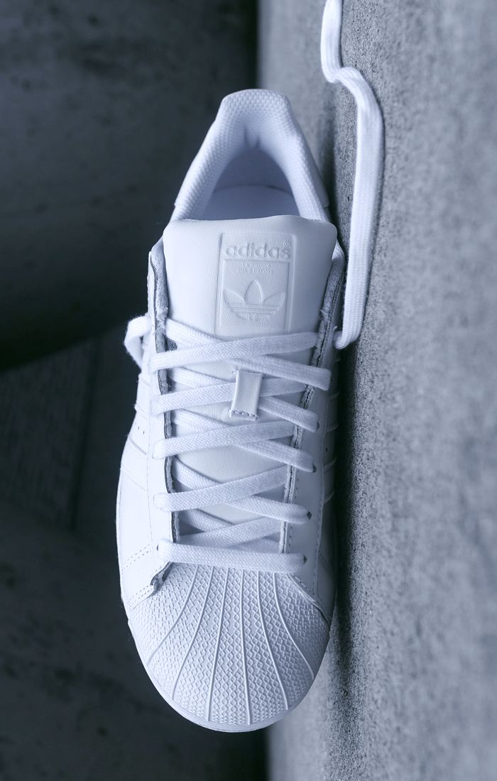 All White Superstar (via KITH)   adidas US  b19a7d7d4