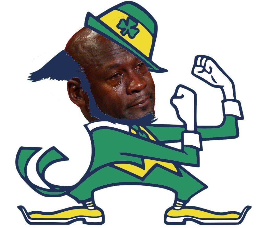 Nfl memes nfl_memes twitter fighting irish logo