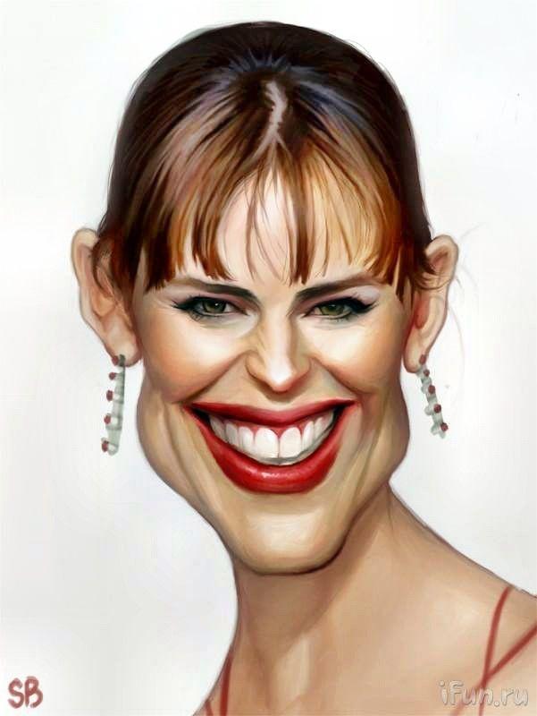Картинки лица женщин смешные