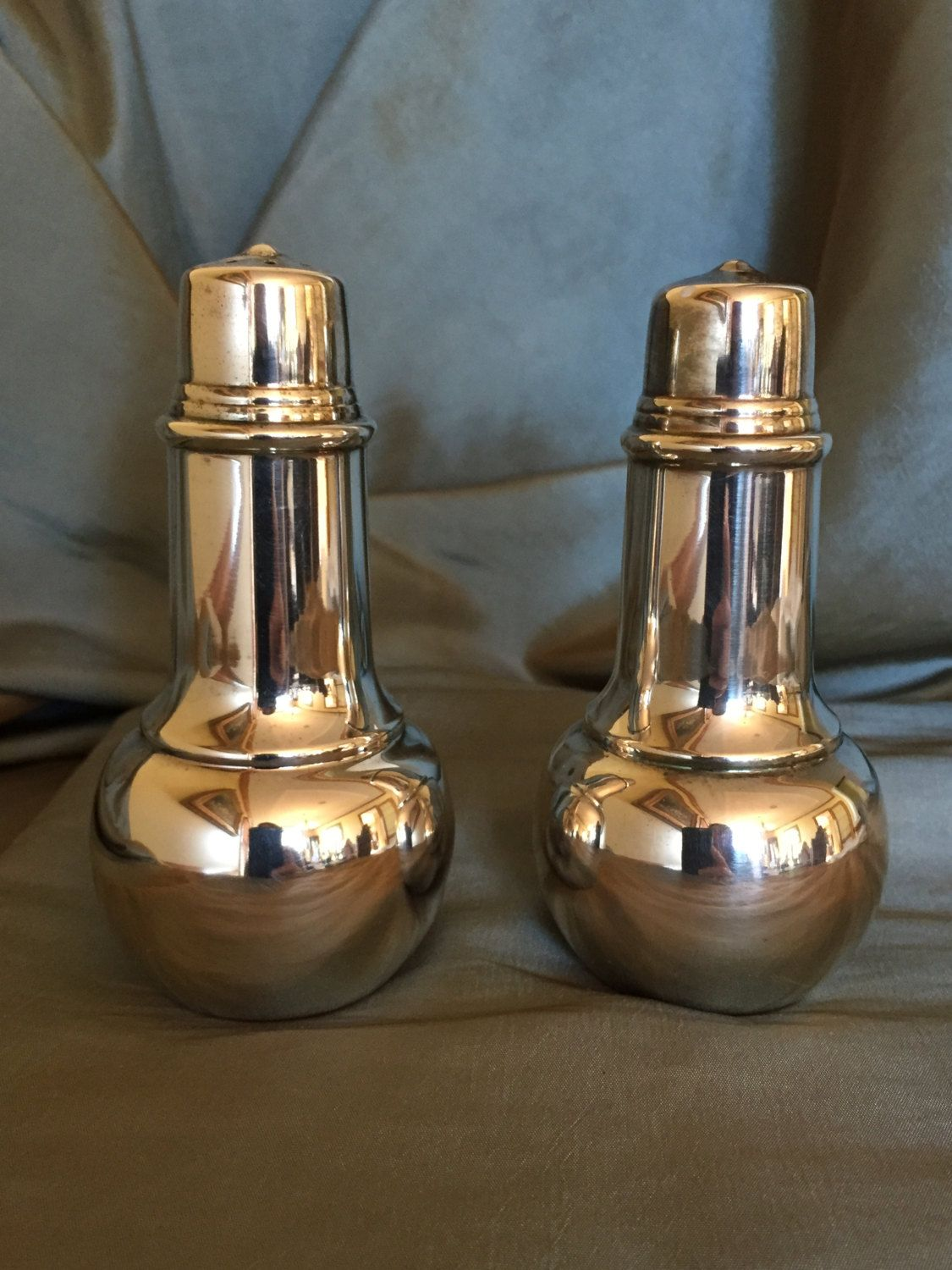 Modern Salt And Pepper Shakers Vintage 1950 39s International Silver Salt And Pepper