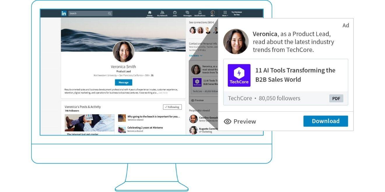 Linkedin Dynamic Ads Are Now Available On A Self Serve Basis Via