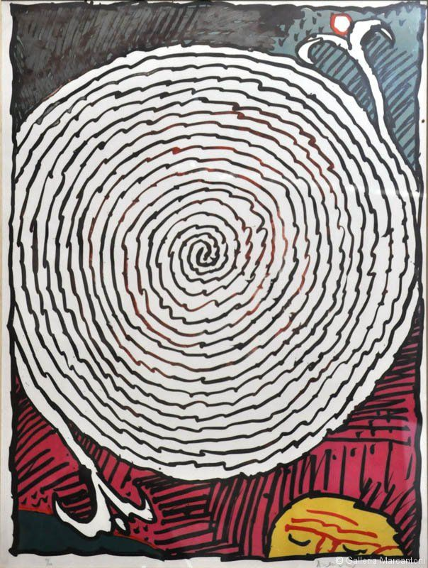 Alecinsky - Litografia    per il prezzo dell'opera scrivere a : info@galleriamarcantoni.it    siamo presenti su:  www.galleriamarcantoni.it  https://www.facebook.com/galleriamarcantoni  https://twitter.com/GallMarcantoni  https://plus.google.com/u/0/118197968336133648874  https://it.foursquare.com/gallmarcantoni  http://www.youtube.com/galleriamarcantoni