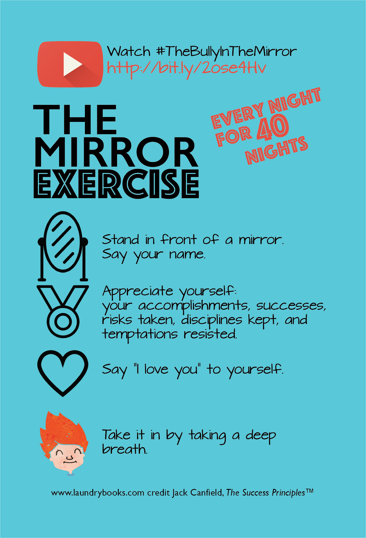 Mirror Exercise Build SelfEsteem How to build solid
