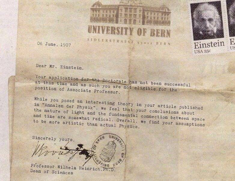 Next time you receive a rejection letter, try not to take it so - job rejection letter