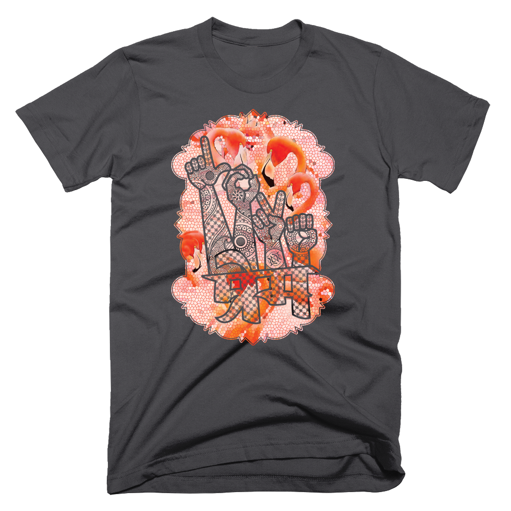Love in Hindi, Flamingo Tee