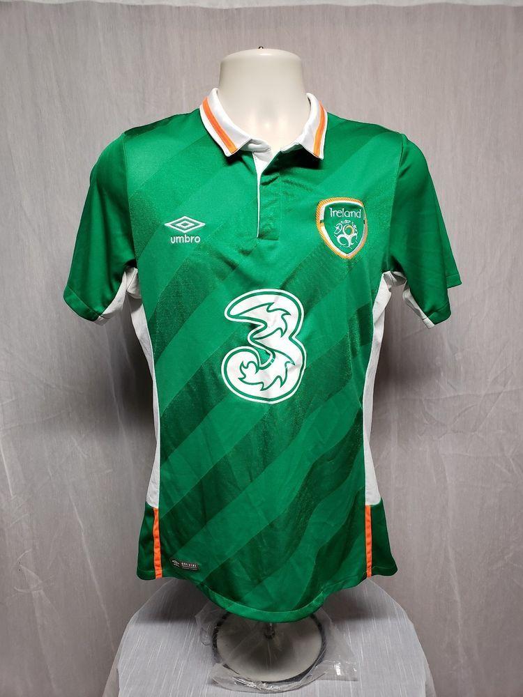 Umbro Republic of Ireland 3 Adult Small Green Soccer