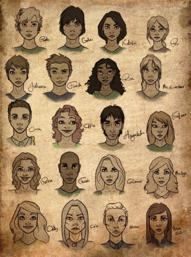 Hunger Games Fan Art Hunger Games Drawings Hunger Games Characters