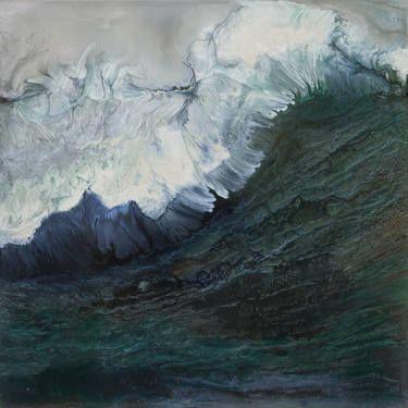 "Saatchi Art Artist Lia Melia; Painting, ""Siren 1; SOLD"" #art"