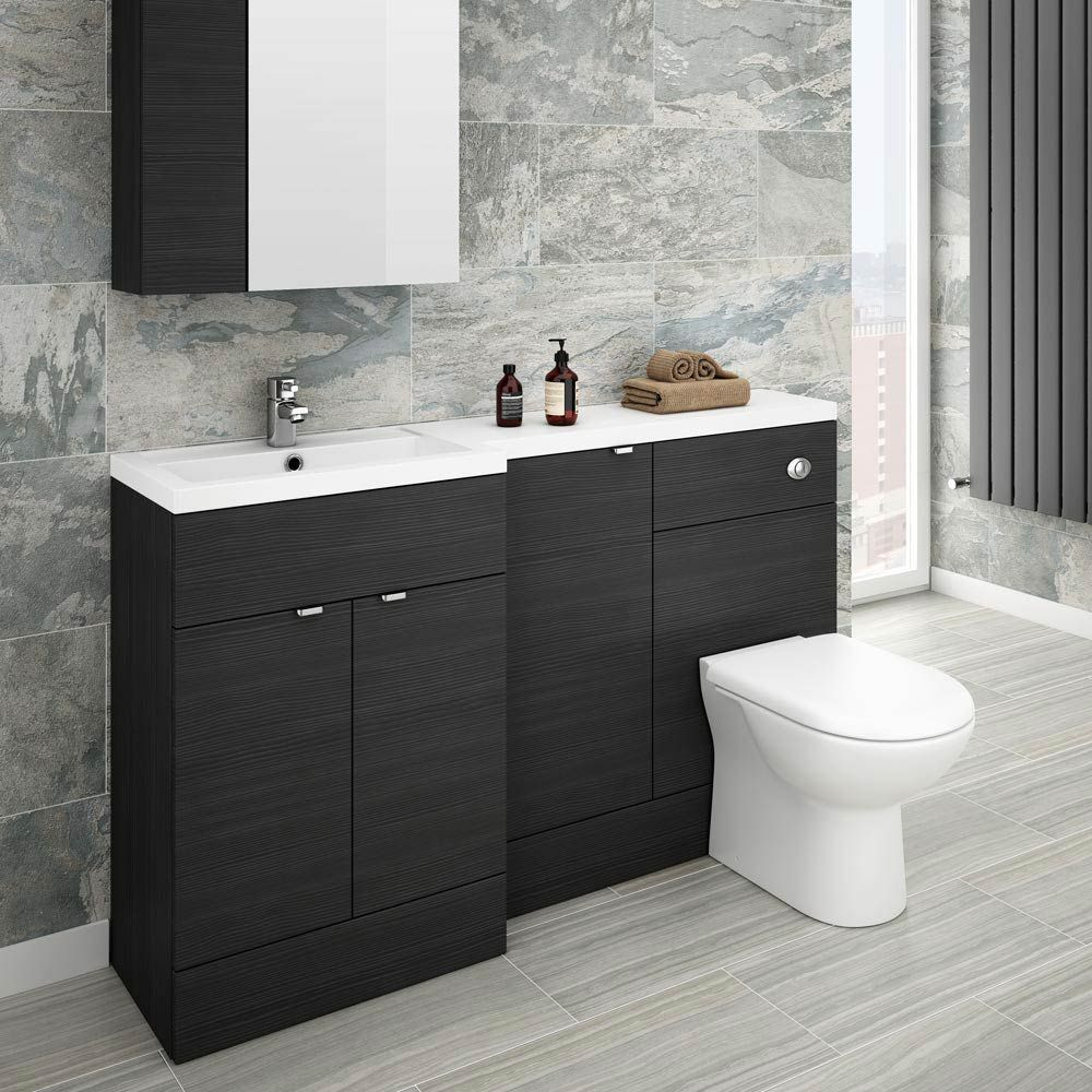 Browse The Brooklyn Black Combination Furniture Pack Online Available In Left And Right Hand Options