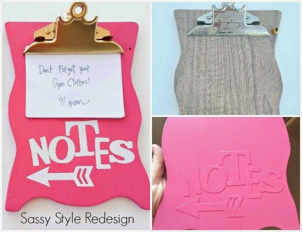 The best back to school diy projects for teens and tweens locker diy back to school projects for teens and tweens handmade do it yourself magnetic personalized locker decoration clipboard tutorial via sassy style redesign solutioingenieria Choice Image