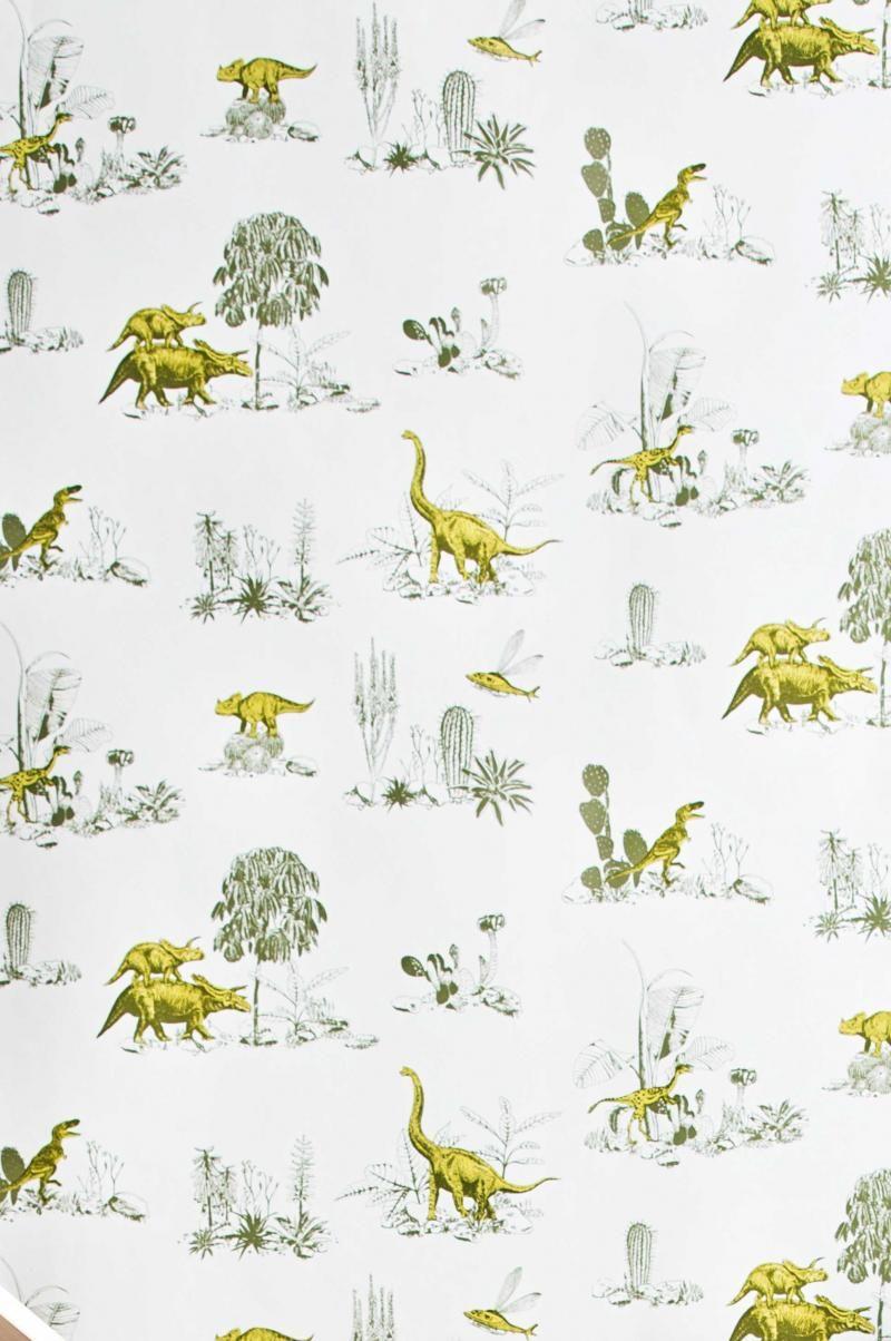 Dinosaur printed wallpaper texturas wallpapers - Paperboy dinosaur wallpaper ...