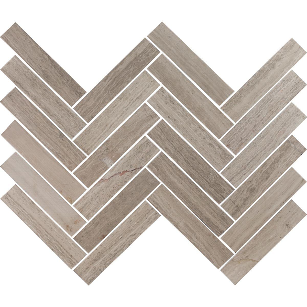 gray and white herringbone tile floors sessemo stone. Black Bedroom Furniture Sets. Home Design Ideas