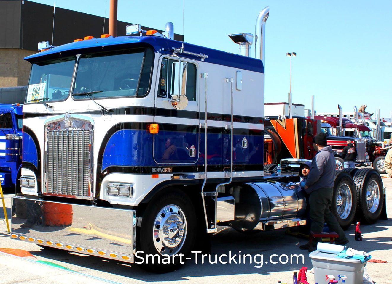 Kenworth k100 cabover custom show truck