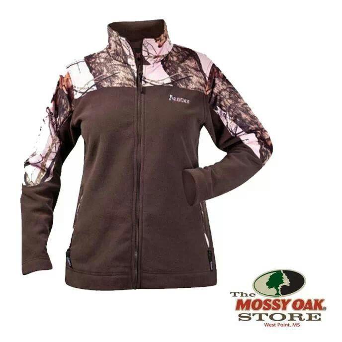 chocolate pink camo rocky fleece jacket fleece jacket on uninsulated camo overalls for men id=80903