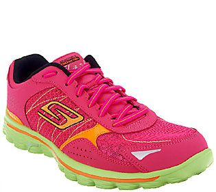 Skechers Gowalk 2 Lace Up Walking Sneakers Flash Sneakers