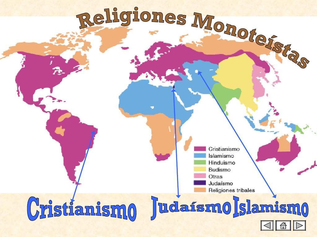 Religiones monoteístas