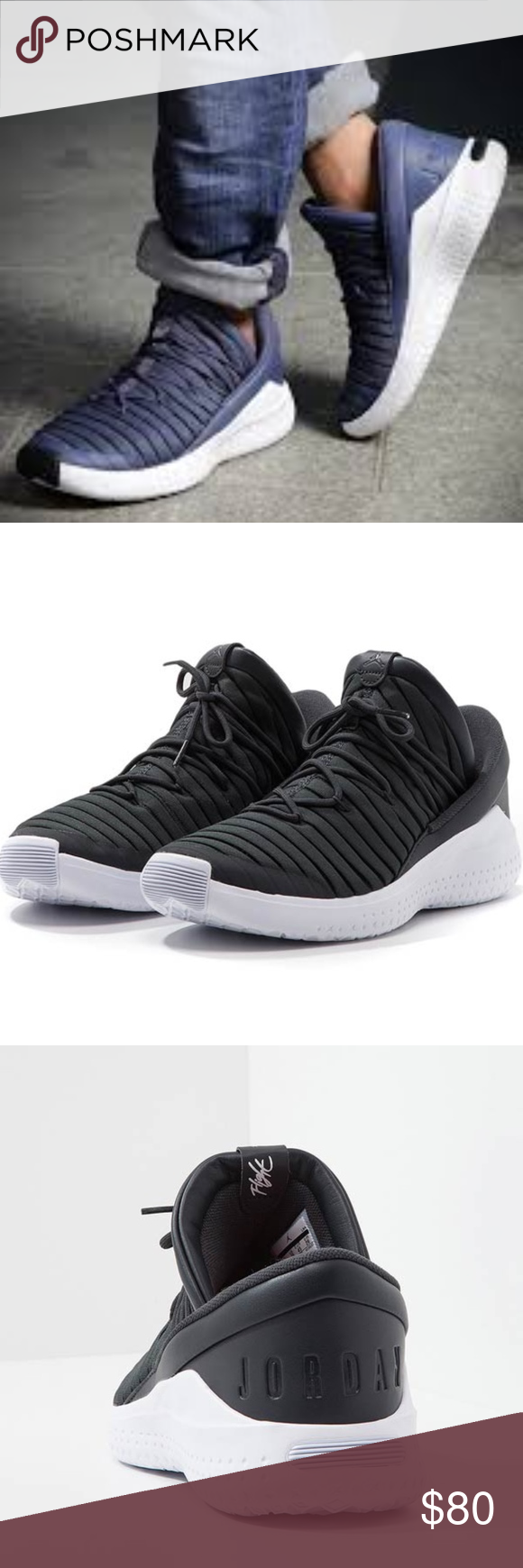 9045ec83f53 Jordan Flight Luxe Black Street Walk Sneakers NWT The Jordan Flight Luxe is  a slip-