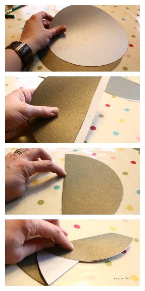 DIY Folded Christmas Tree Card | Christmas Cards | Pinterest ...