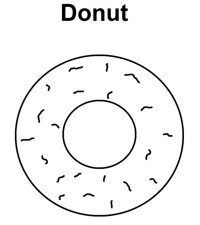 Image result for donut template for donuts with dads