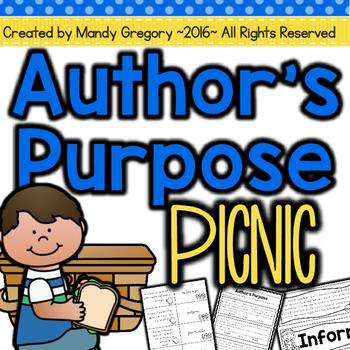 Magnificient authors purpose worksheets Latest