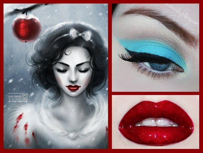 Limecrime makeup- Snow White! <3