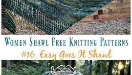 Photo of Top 21 Shawl Knitting Patterns