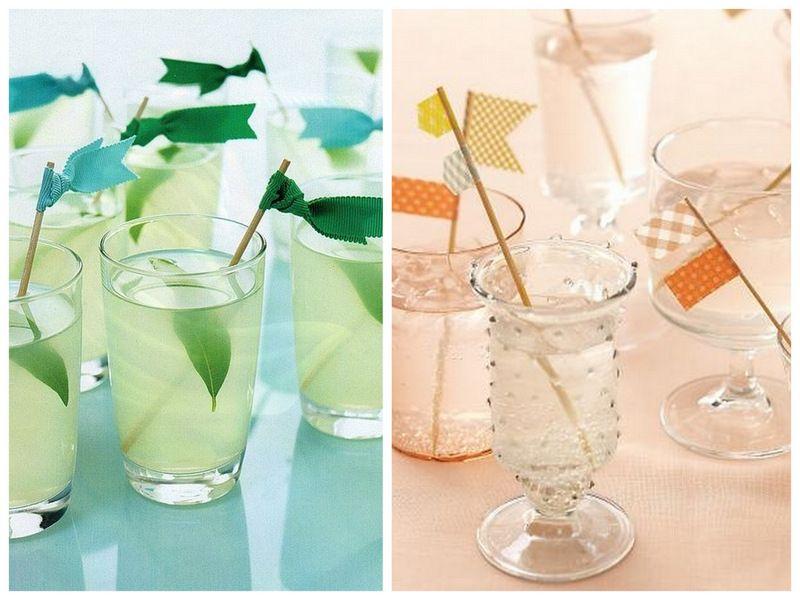 Don't let your drink be naked! Dress it up with a DIY drink stir: su.pr/1L0Hur #wedding #DIY