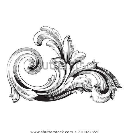 Vintage Element Baroque Vector For Design Decorative Design Element Filigree Baroque Decorative Design Ele Barock Tattoo Barock Ornamente Vorlagen