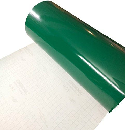 Forest Green Glossy 12 X 10 Foot Roll Of Oracal 651 Perm Https Www Amazon Com Dp B01m345umu Ref Vinyl Printer Paper Adhesive Vinyl Paper Wall Vinyl Decor