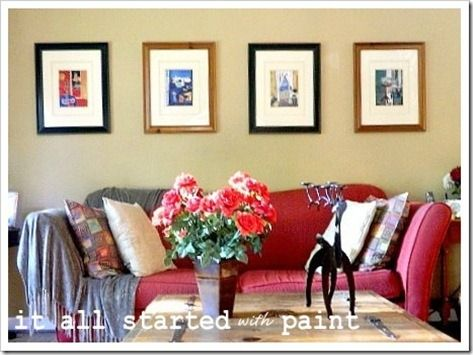 17 Best Images About The Red Couch (Living Room Ideas) On