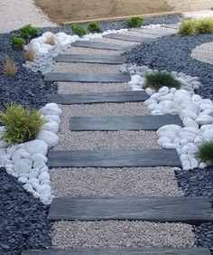 amenagement chemin d\'acces maison jardin japonais - Recherche Google ...