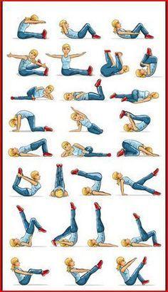 Principales ejercicios recomendados de pilates.