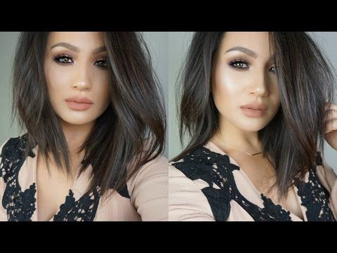 How To Style A Lob Short Edgy Hair Melissa Alatorre Youtube