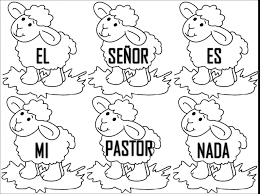 Resultado de imagen para imagenes cristianas animadas para niños para colorear