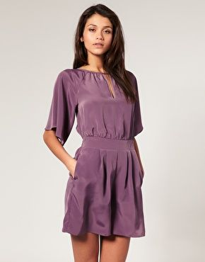 Pretty color, pretty style...just need the perfect nude color heels and accessories
