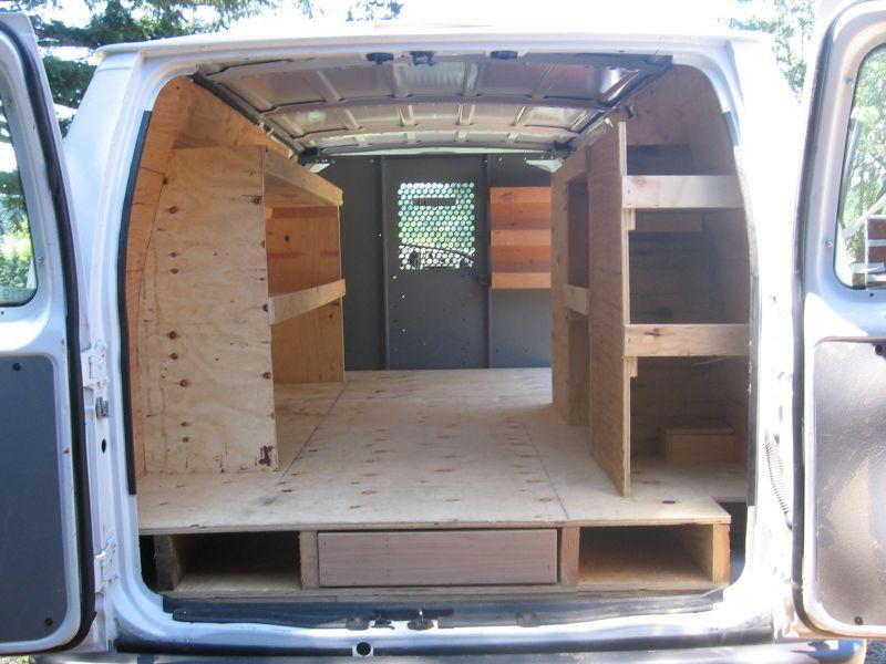 Shelving Photo Gallery Van Shelving Van Storage Work Truck