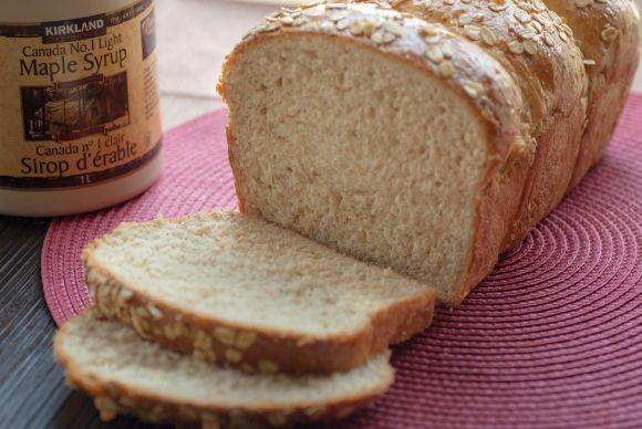 Maple Oat Wheat Bread