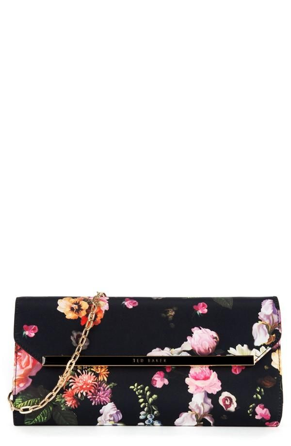 shop nordstrom ted baker floral clutch/purse | ℘ursєs & Wαℓℓєʈs ...