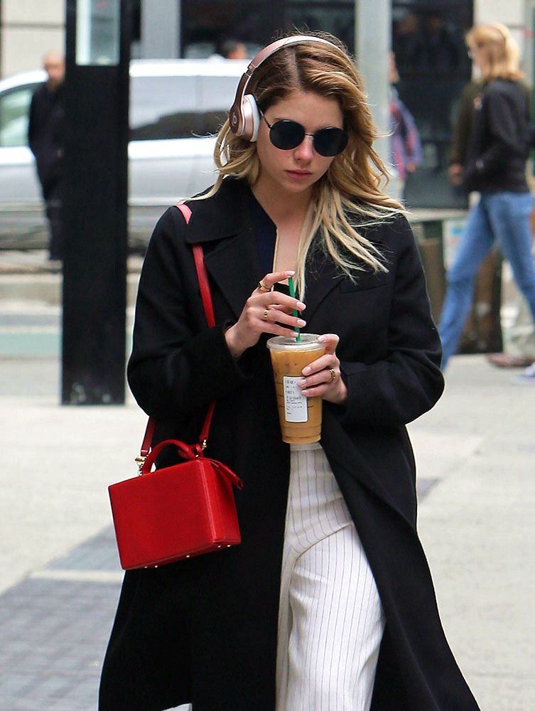349386a27b1d Celebs Amp Up the Sparkle and Flash with New Bags from Gucci