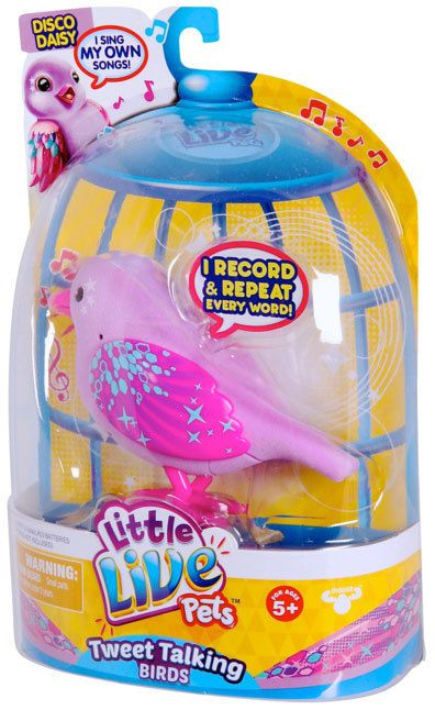 Buy Little Live Pets Bird Series 3 Disco Daisy Online at