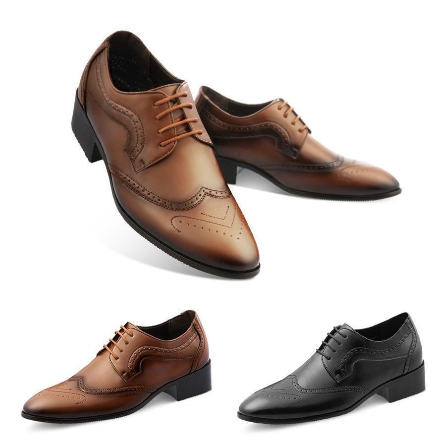 Ma08 2 36 Taller Classic Tall Up Men Casual Shoes Formal Dress Shoes Oxford Oxford Shoes Mens Casual Shoes Dress Shoes