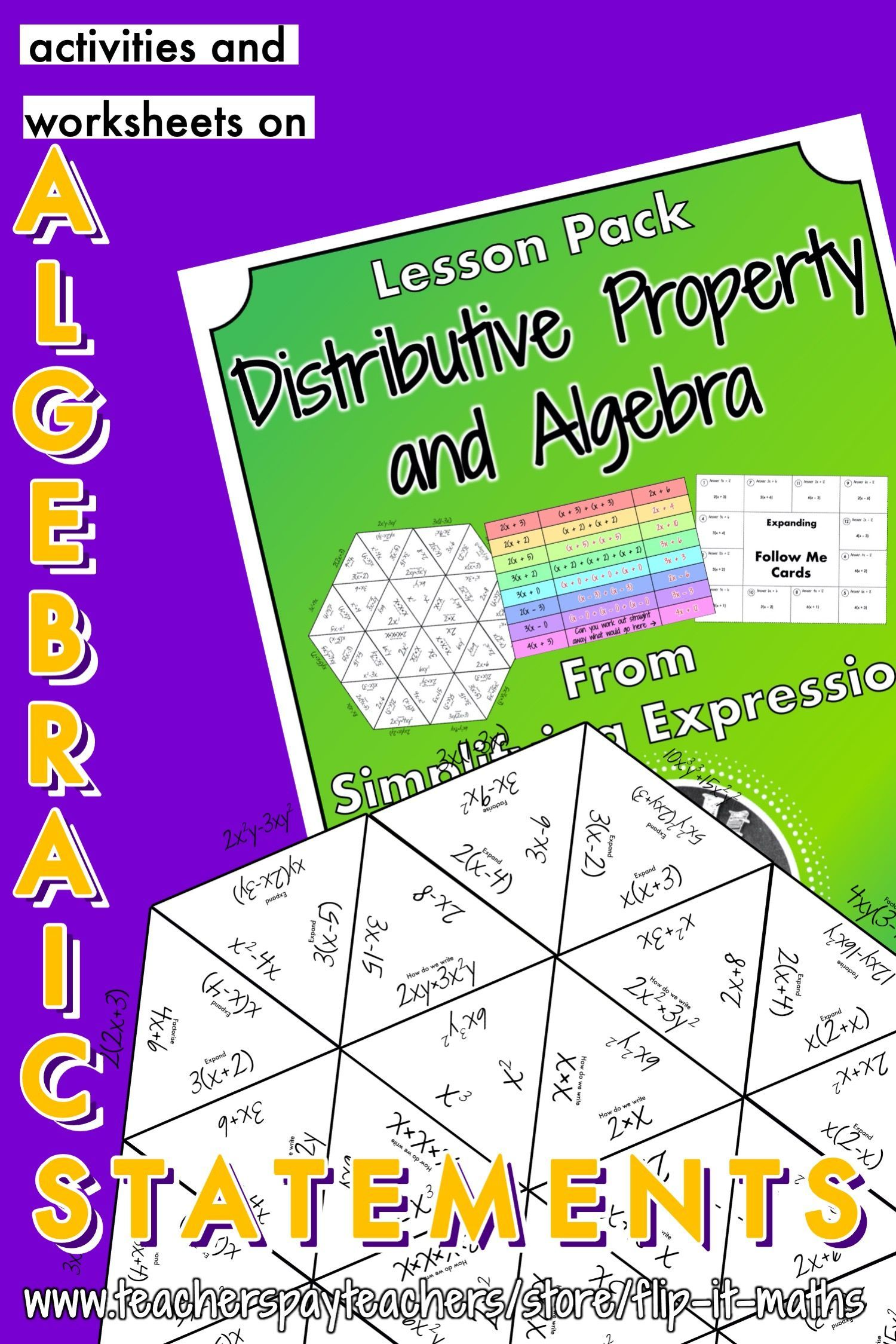 The Distributive Property And Algebra In