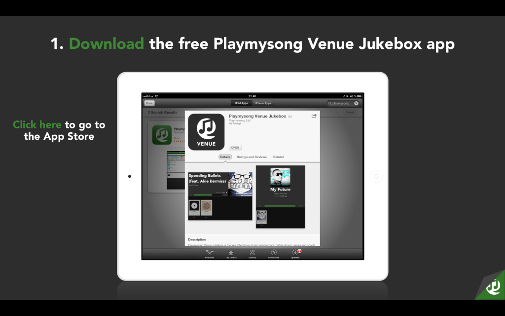 Launch Your Social Jukebox With Spotify or MP3s - Playmysong