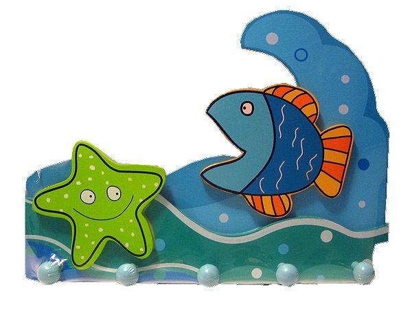 Garderobe Kinder Unterwasserwelt
