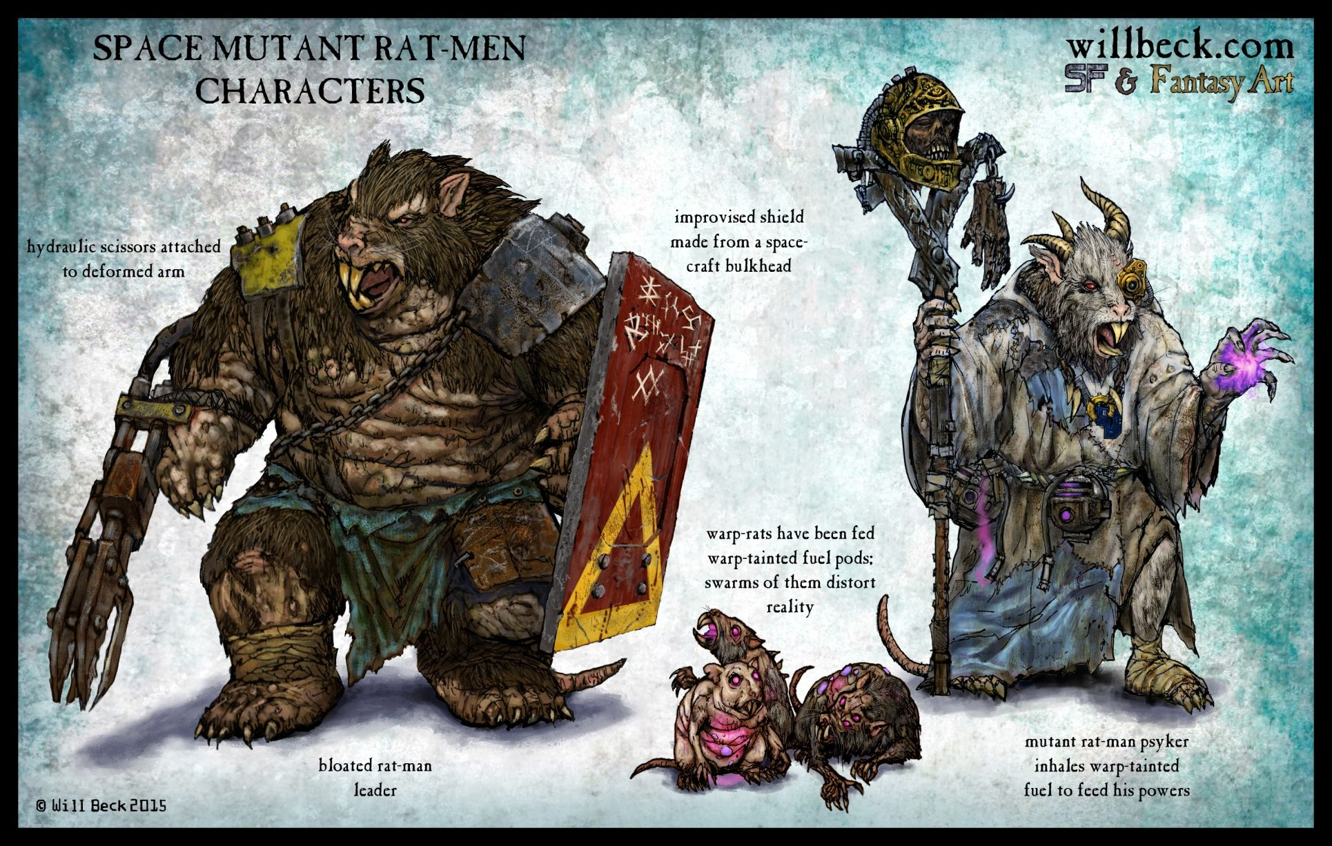 Space Rat Men Characters In 2019 Rat Man Fantasy Races