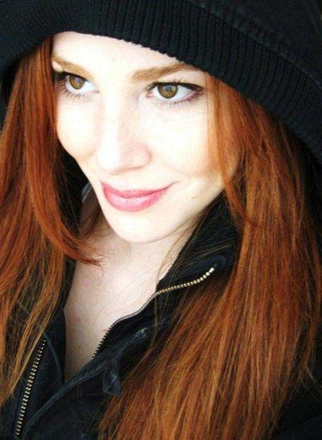 Elcin Sangu Redhead Beauty Beautiful Redhead Redheads