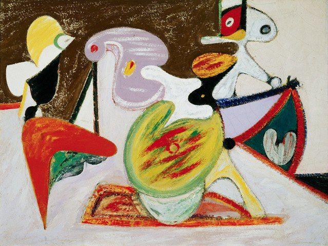 Arshile Gorky Modern Art Abstract Art Art Movement